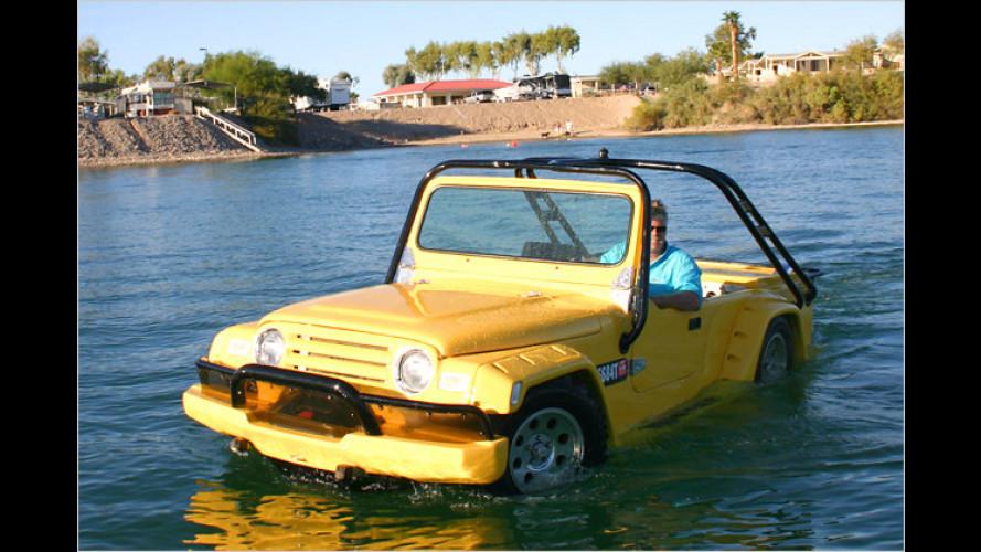 VW Käfer mutiert zur Amphibie
