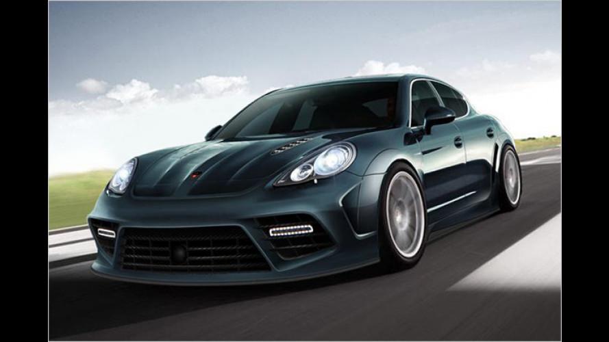 Mansory: Eleganter Sportdress für den Porsche Panamera