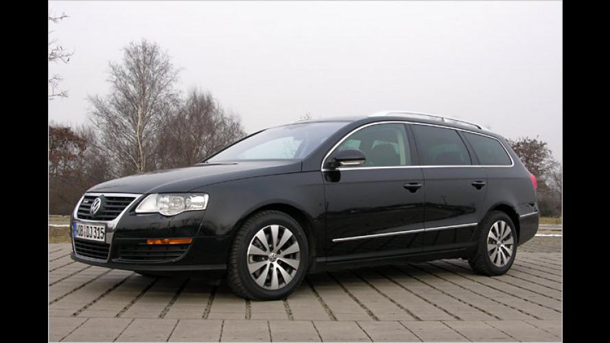 Spritsparkombi: VW Passat Variant BlueMotion II im Test