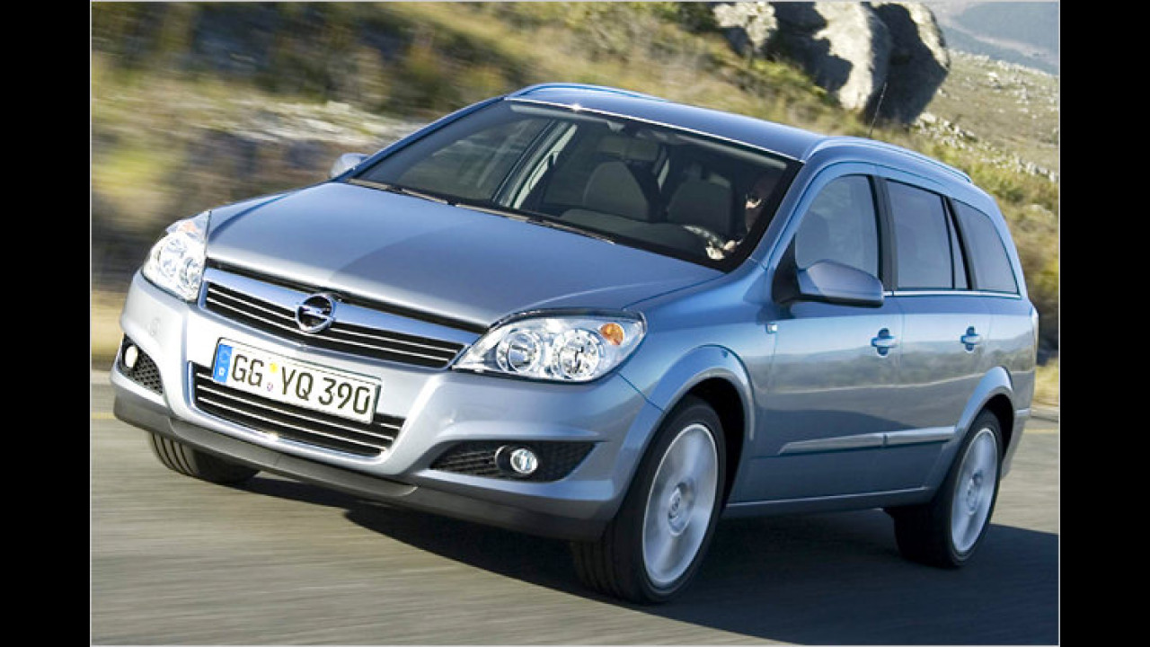 Opel Astra Caravan 1.7 CDTI ecoFlex Selection