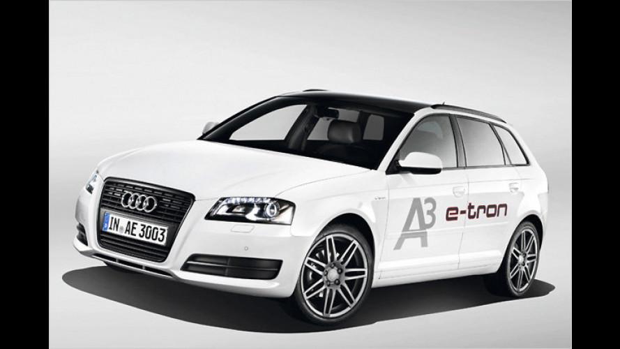 Audi A3 e-tron: Kompakter Stromer für die Stadt