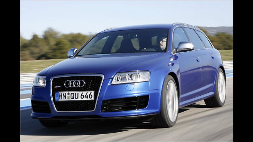 Test Audi RS 6 Avant: Ring frei für den Kombi-Boliden