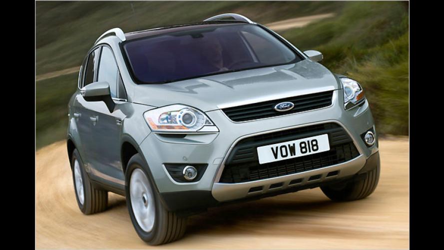 Ford gibt Preise des Kuga bekannt: Schicker Kraxler startet 2008