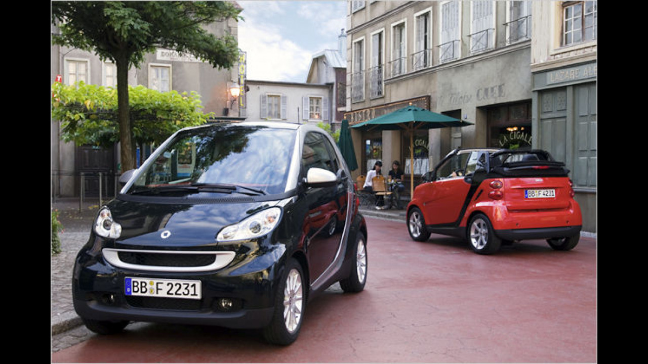 smart fortwo coupé/cabrio 0.8 cdi pure