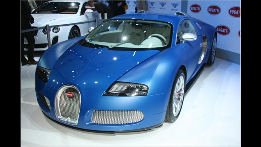 Bugatti stellt den Veyron ,Bleu Centenaire