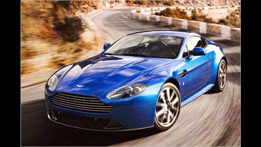 """,S"""" wie schneller: Aston Martin Vantage auch mit Sportdress"""