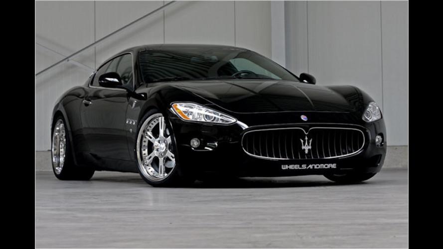 Italian Job à la Rheinland: Zwei Maserati mit mehr Biss