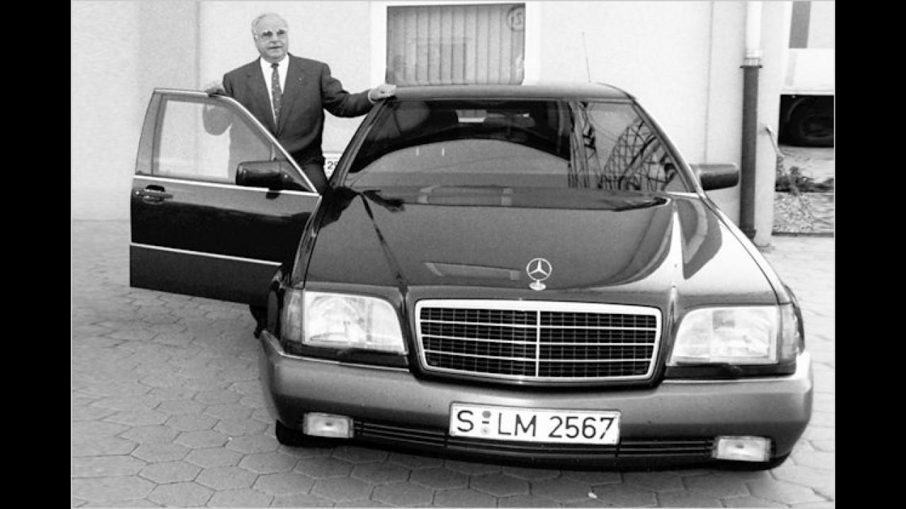 Helmut Kohl: Mercedes 500 SEL