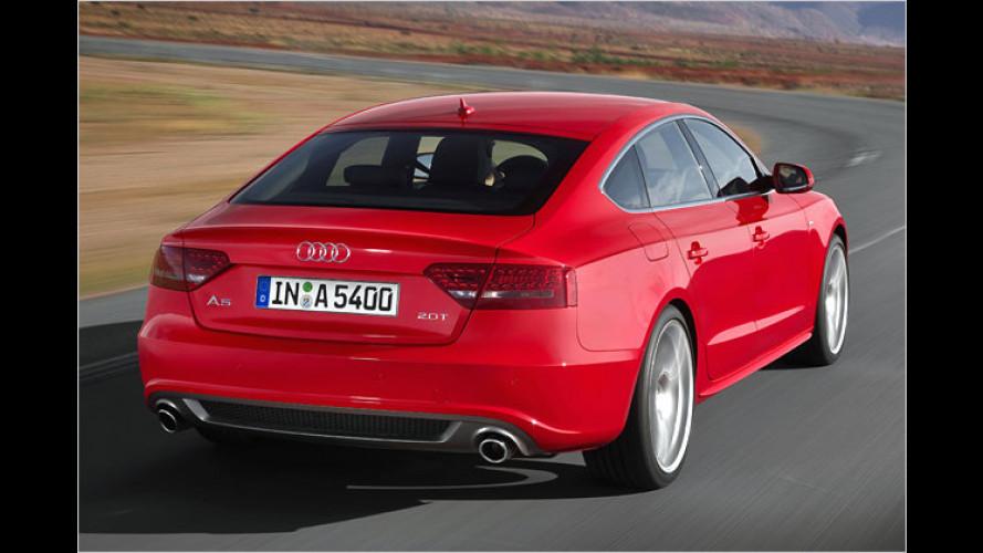 Audi A5 Sportback: Familien-Zuwachs kommt als Fünftürer