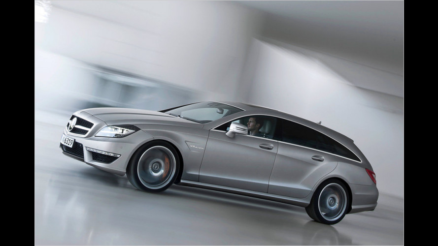 Mercedes stellt den CLS 63 AMG Shooting Brake vor