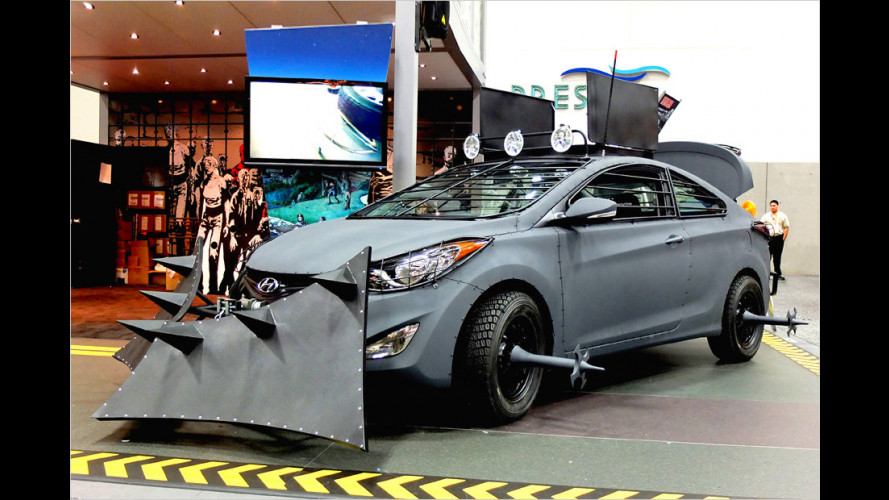 Hyundai vs. Zombies