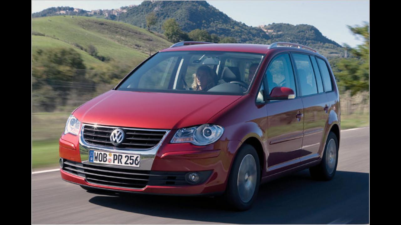 VW Touran 1.4 TSI EcoFuel Conceptline 7-Gang-DSG