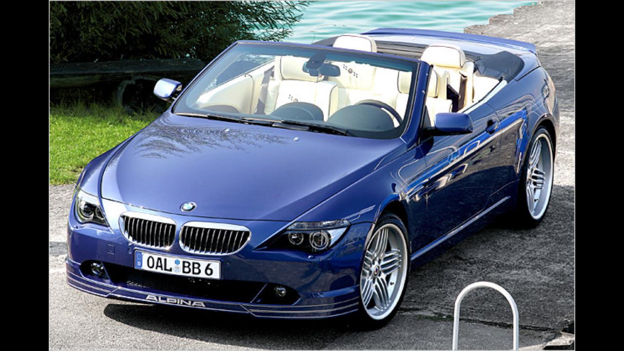 6. Platz: BMW Alpina B6 S Cabrio