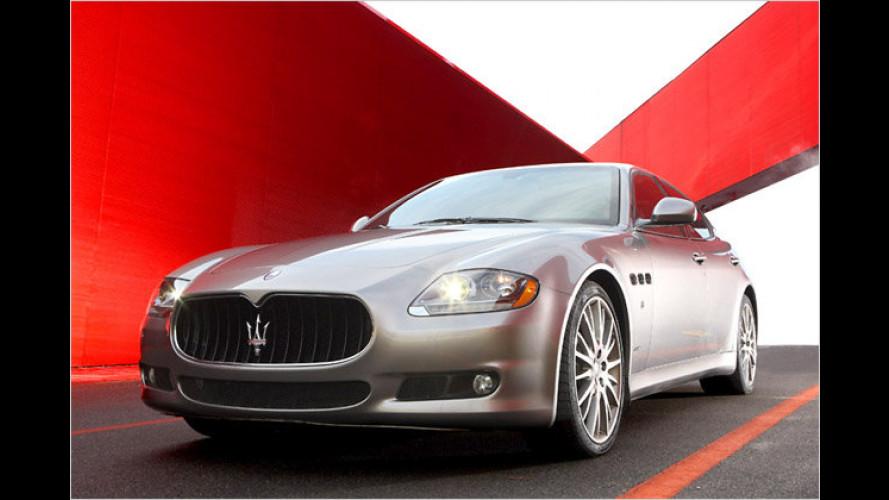 Maserati verfeinert Ausstattung aller drei Baureihen
