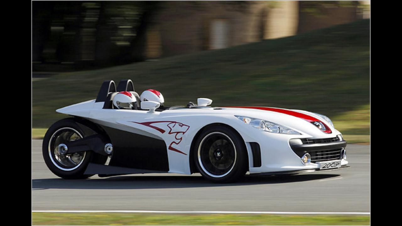 Aus dem Peugeot 20Cup ...