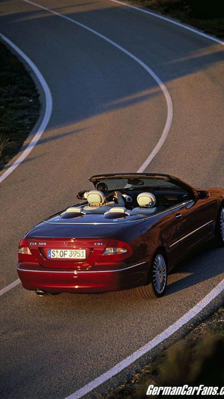 Mercedes Benz Clk 320 Cdi Cabriolet Photos