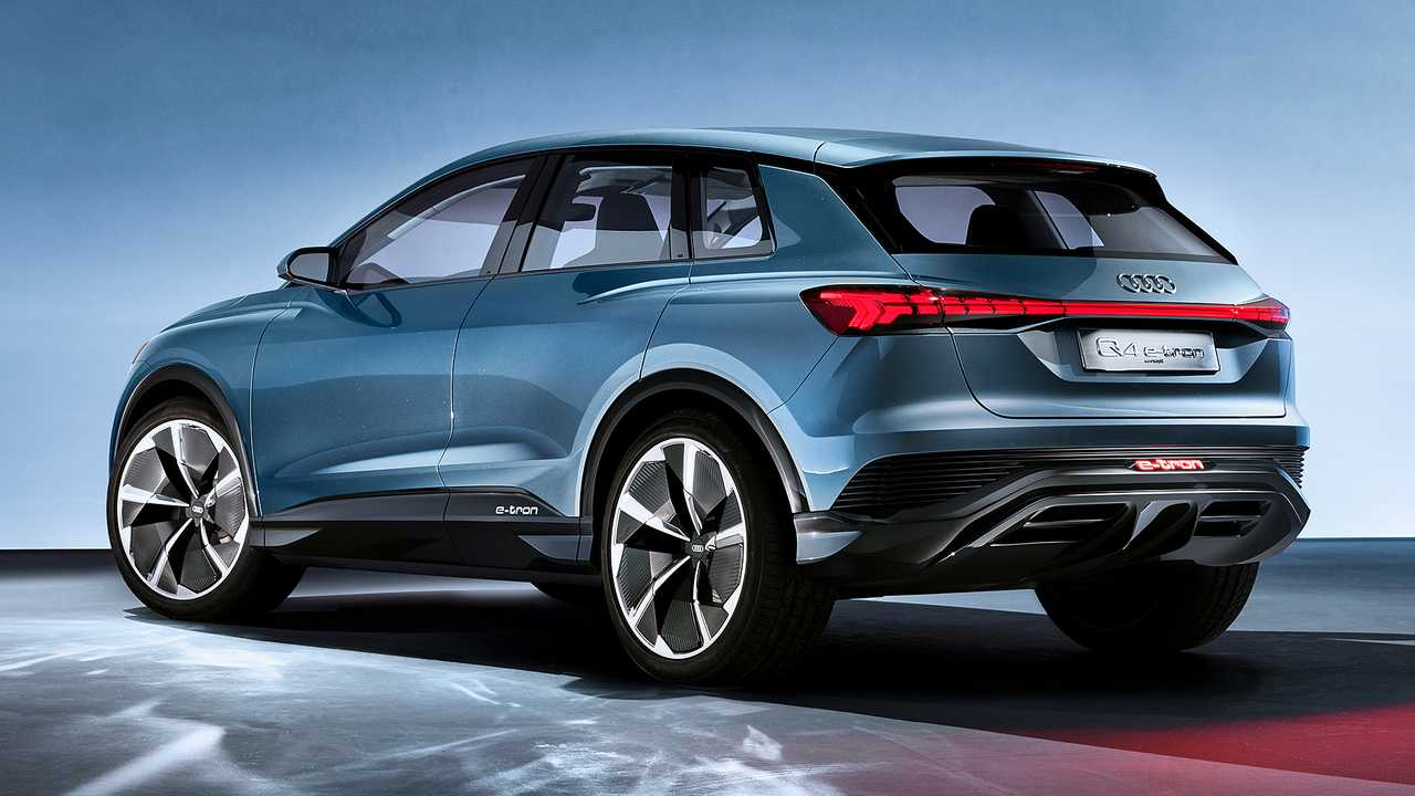 Audi Q4 e-tron Concept revealed in Geneva