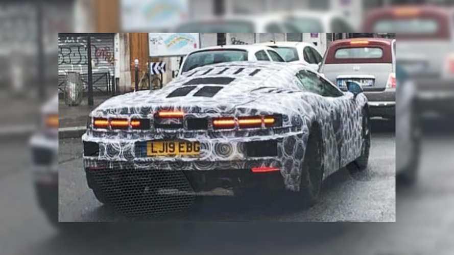 La McLaren GT aperçue en plein Paris !