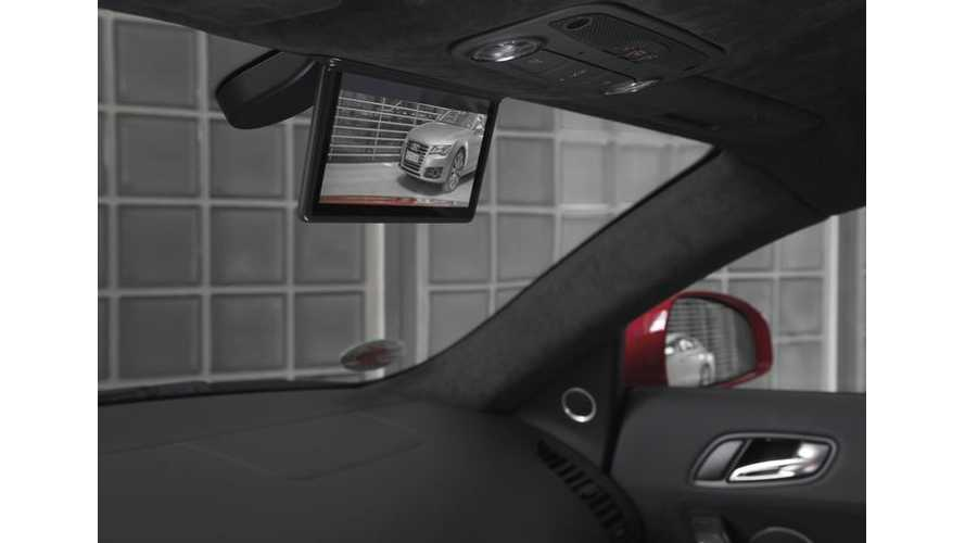 Digitial Rear-View Mirror From R18 Le Mans Race Car Is A Go For Audi R8 e-tron