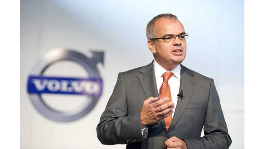 "Ex-Volvo CEO:  ""Electric Vehicles Have No Mainstram Role In The Foreseeable Future"""