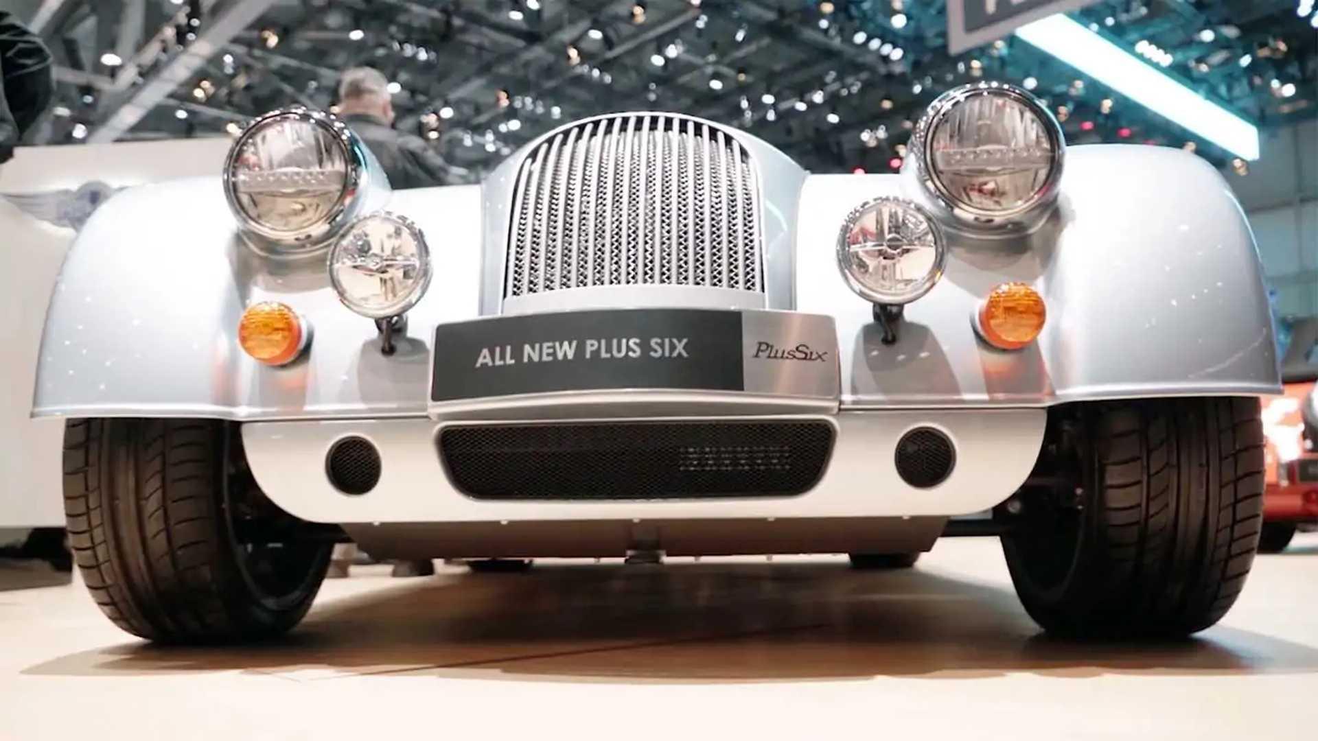 Morgan Plus Six Debuts With New Platform, 335-HP BMW Inline-Six
