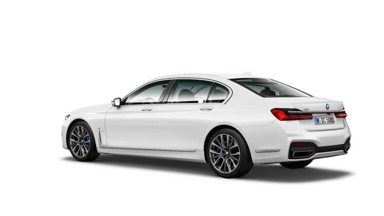 2020 BMW 7-es sorozatú facelift szivárgott hivatalos kép