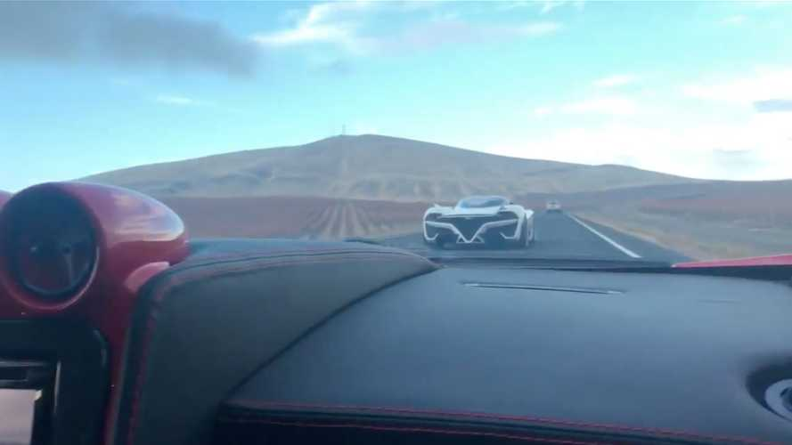 SSC Tuatara Caught Testing On Open Roads