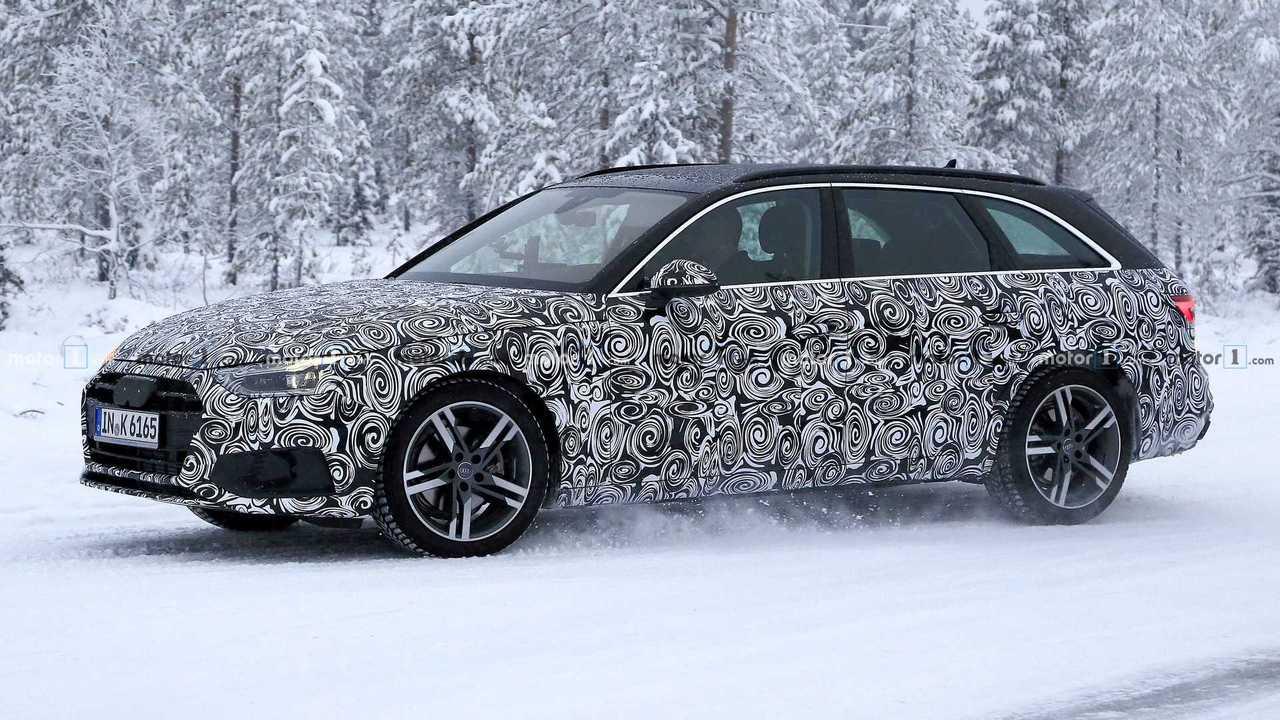 2020 Audi A4 Avant spy photo