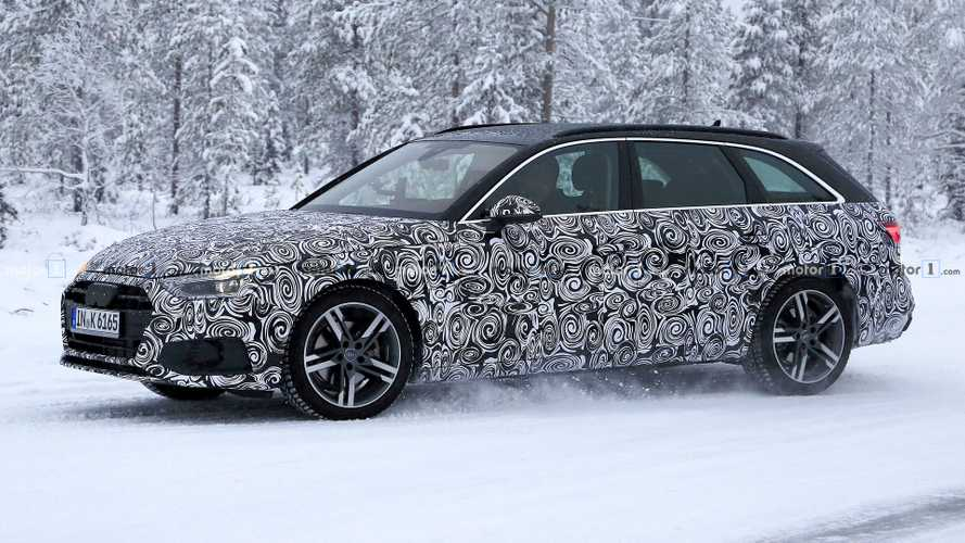 Audi A4 Avant Spied For The First Time Hiding Major Refresh