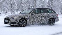 Audi A4 Avant 2019: Erster Erlkönig versteckt XXL-Facelift