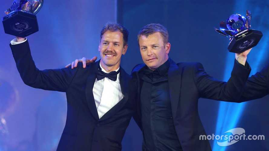 Raikkonen life of the party at FIA Awards, as Hamilton is crowned