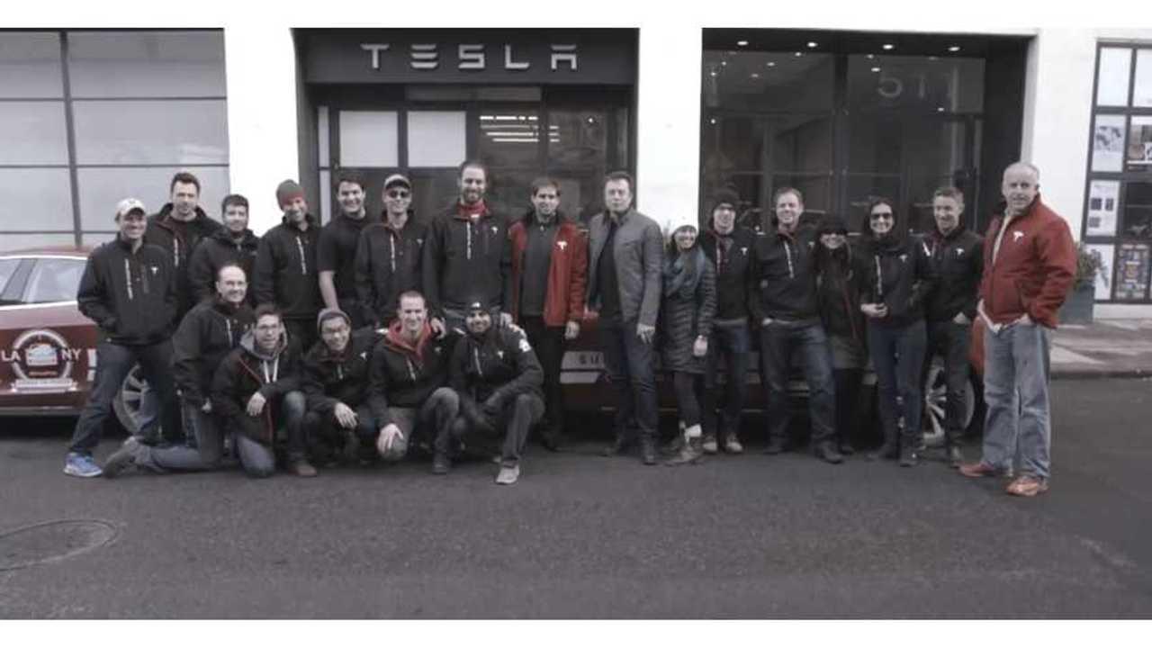 Tesla Model S Cross Country Rally – Behind The Scenes Episode 3 – Video