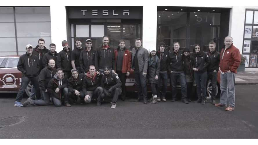 Tesla Model S Cross Country Rally – Behind The Scenes Episode 3 – Video