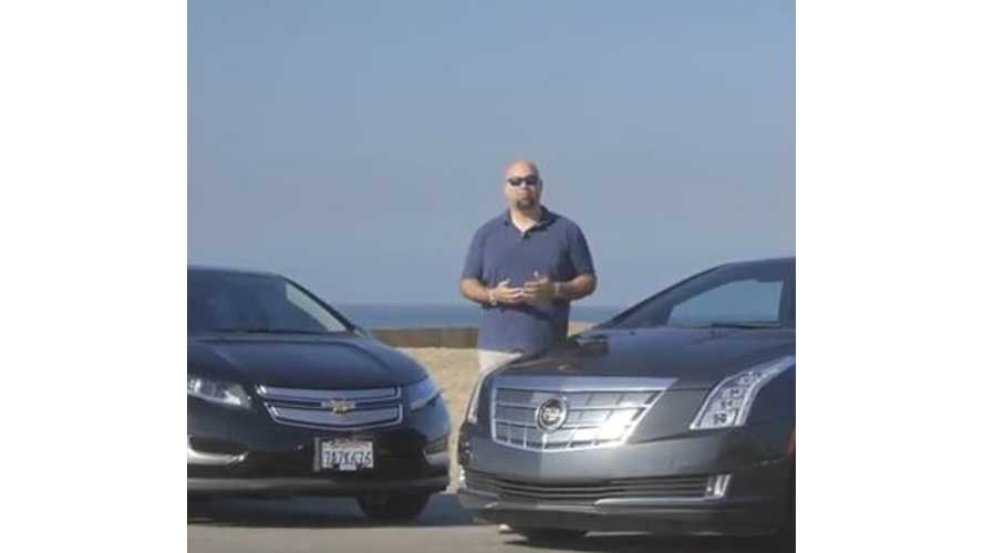 The Smoking Tire Pits Chevy Volt Versus Cadillac ELR - Video