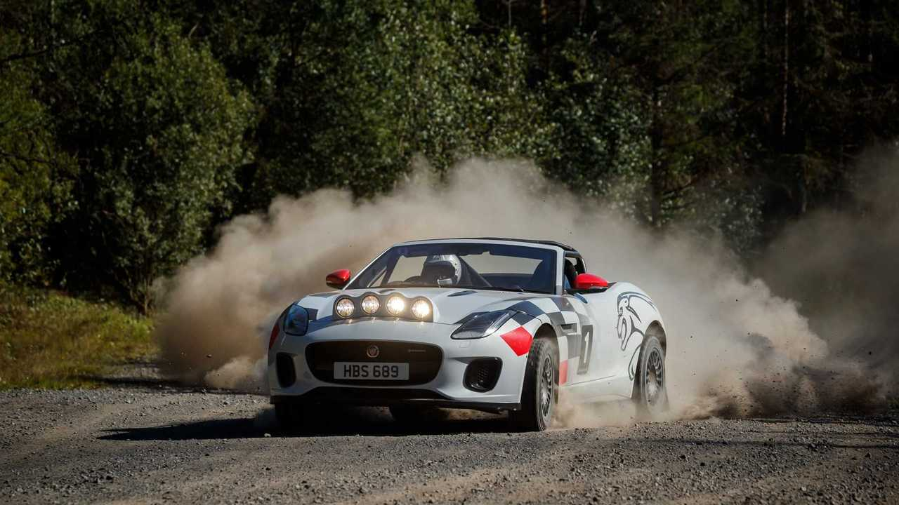 Jaguar F-TYPE Convertible de rallies