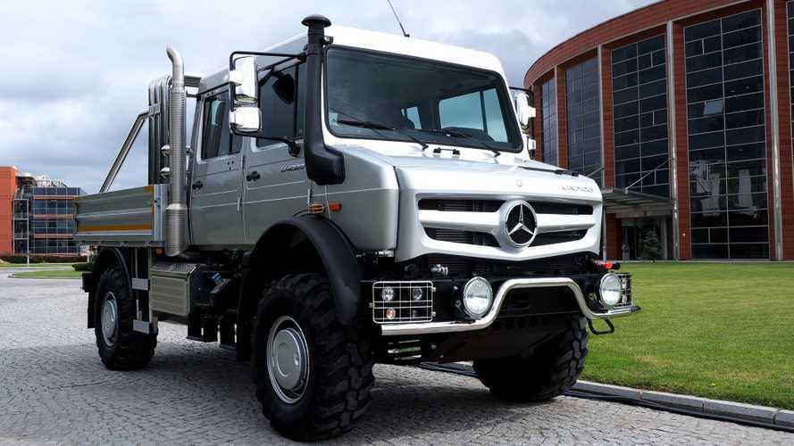 Mercedes-Benz Unimog artık şehir yollarında