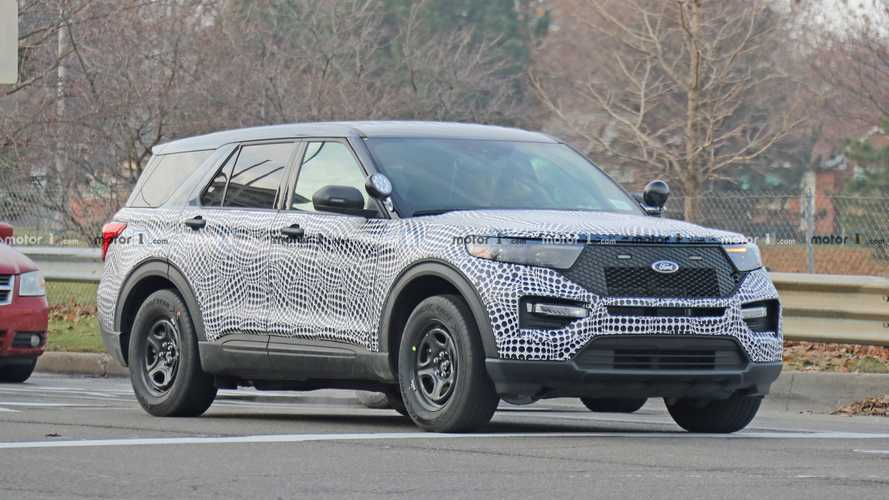 Ford Explorer Police Interceptor Spy Photos