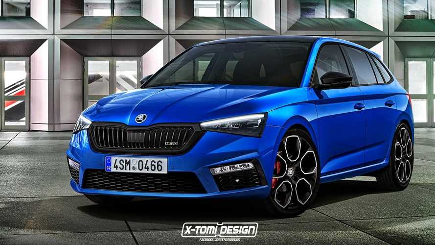 Skoda Scala RS, Scout render
