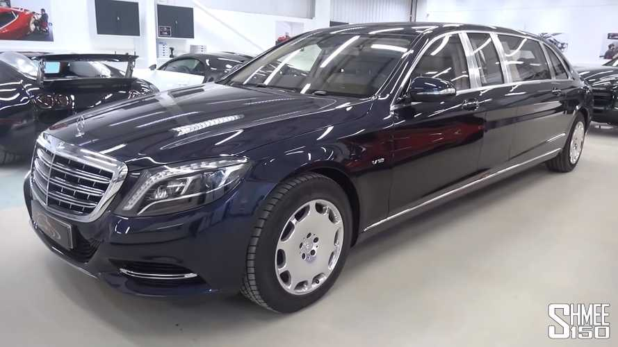 Mercedes-Maybach S600 Pullman pre-facelift RHD