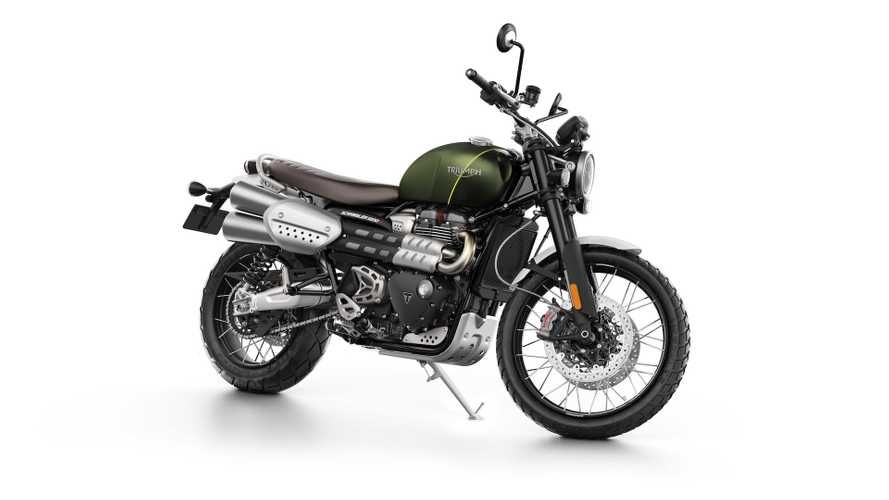 Triumph Releases Pricing For 2019 Scrambler 1200