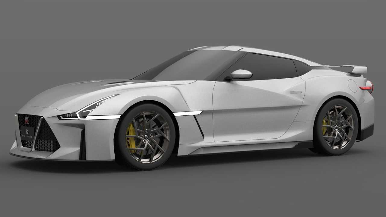 nextgen nissan gtr render gives godzilla sharper teeth