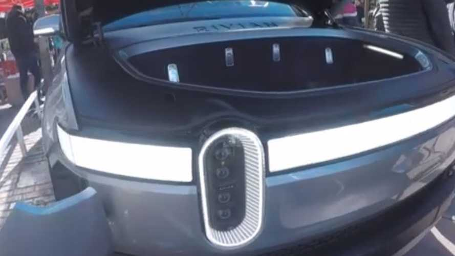 See Rivian R1T Electric Pickup Truck Up Close In New Video