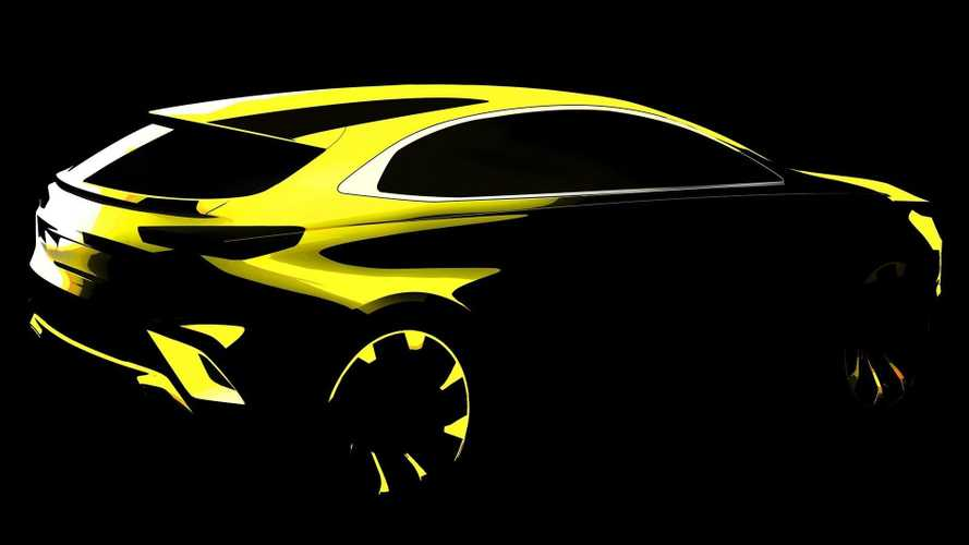 Kia Xceed compact crossover first teaser hints at sporty look