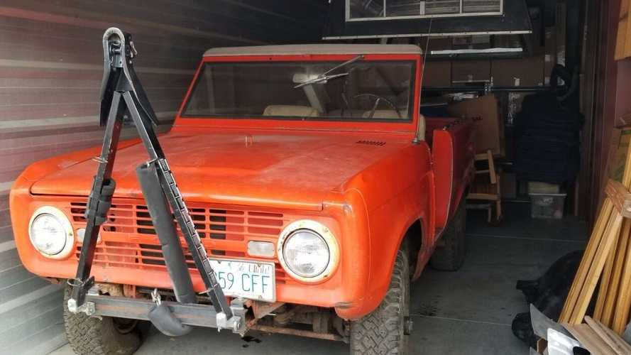 Genuine Barn Find Ford Bronco Roadster With 289ci V8
