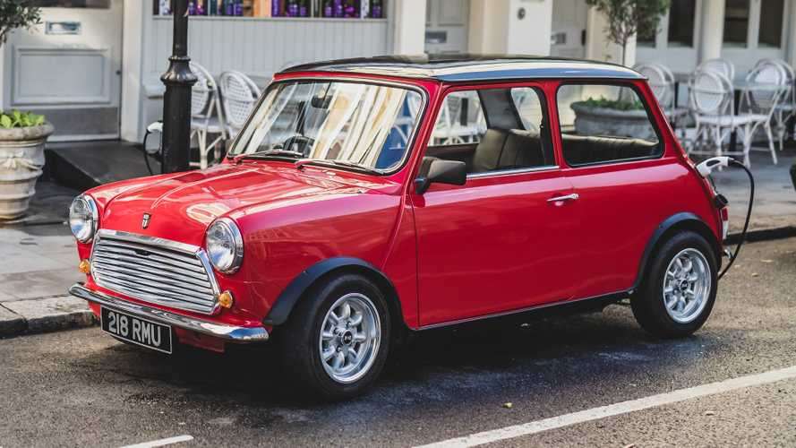 The original Mini is back as a modern EV