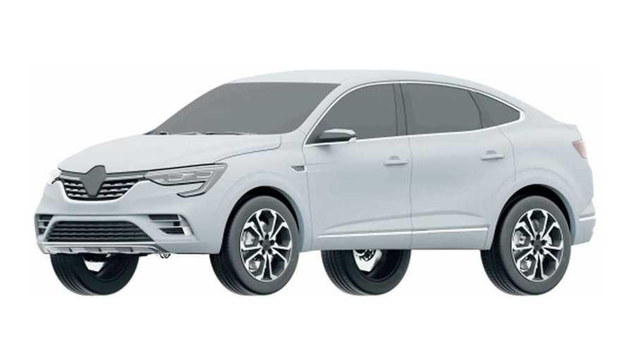 Renault Arkana - Registro no INPI
