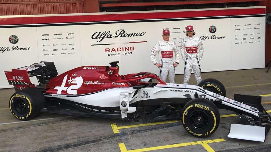 Alfa Romeo C38: Raikkonen e Giovinazzi scoprono il Biscione 2019