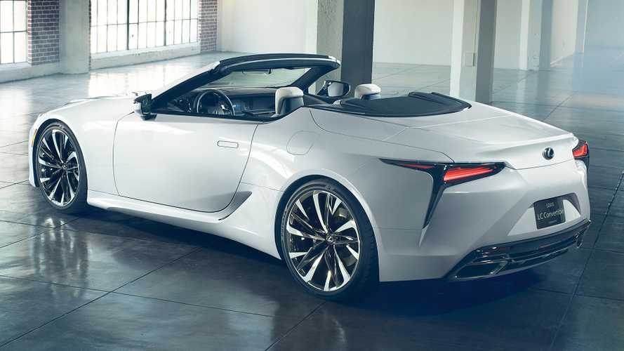 Lexus LC Convertible Confirmed For Goodwood Debut