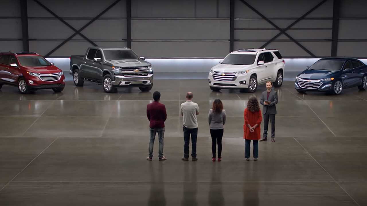 Chevy Real People Ad
