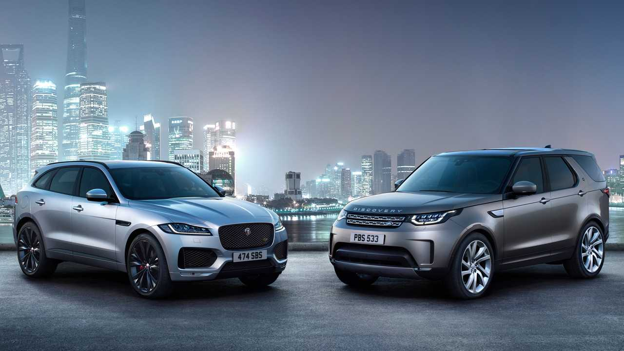 Jaguar Land Rover dual brand